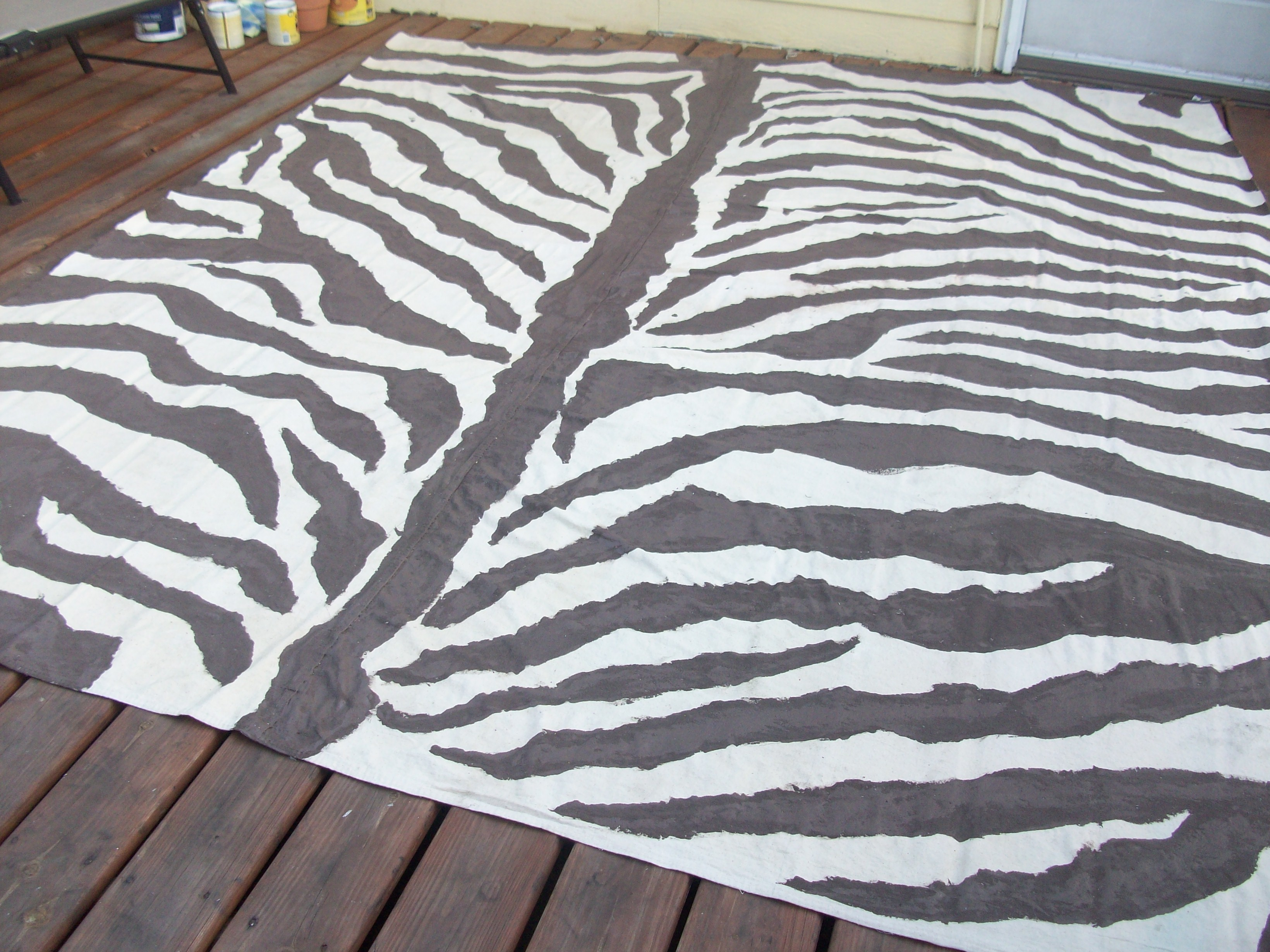 products splashed cowhide light rug brown zebra on gold metallic of shades