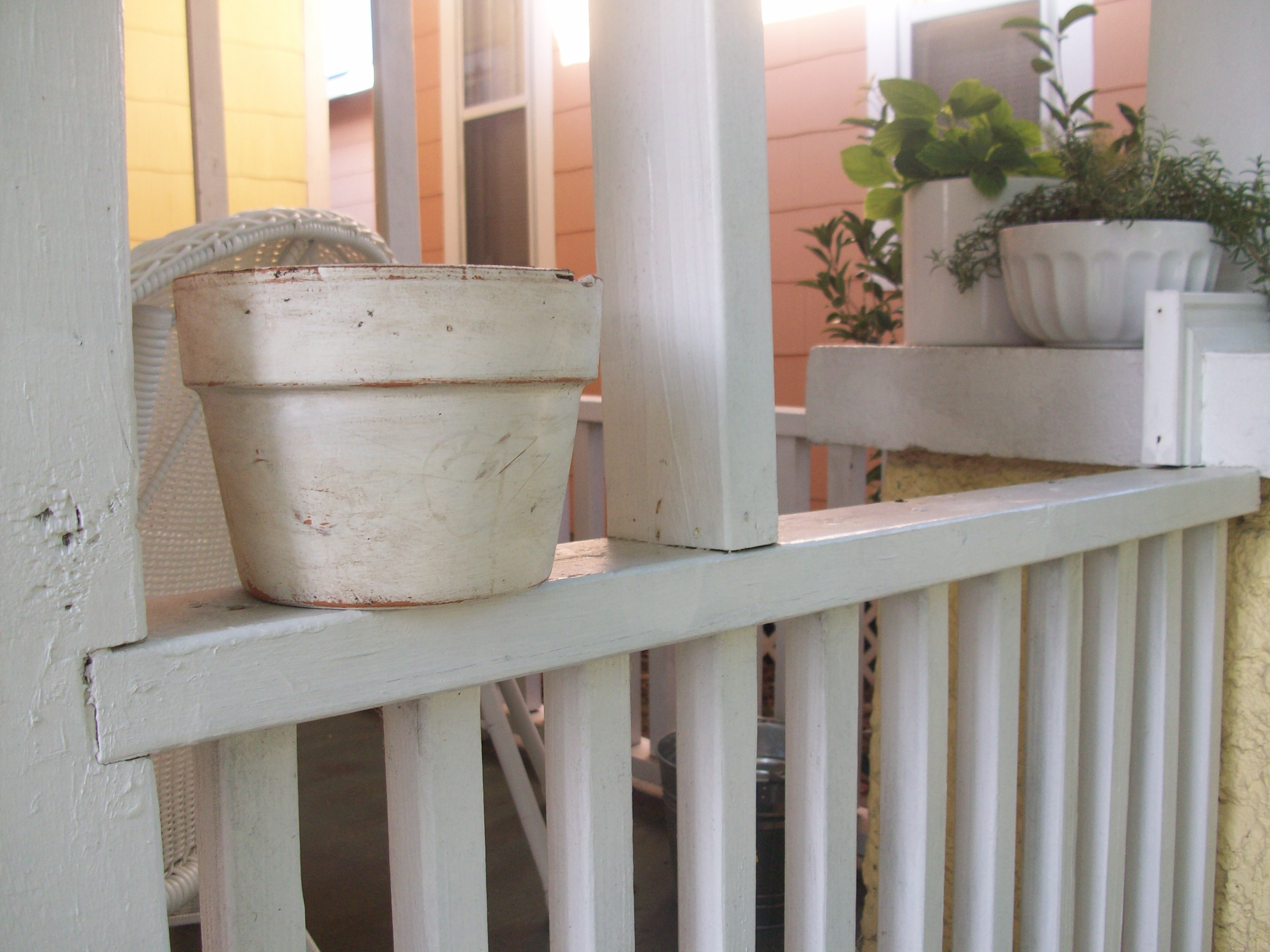 Aged Clay Flower Pot Living Well On The Cheap