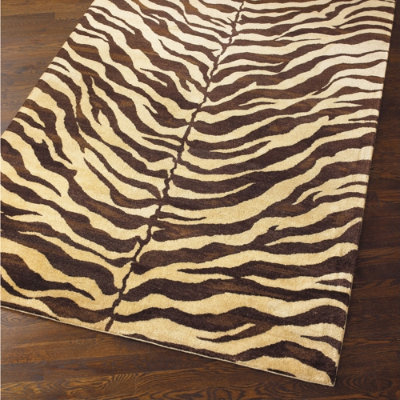 Diy Zebra Rug Living Well On The Cheap